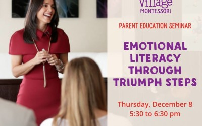 Village Montessori – Parent Education Seminar 12/08/2016
